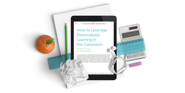 FreshGrade's eBook on How to Leverage Personalized Learning in the Classroom