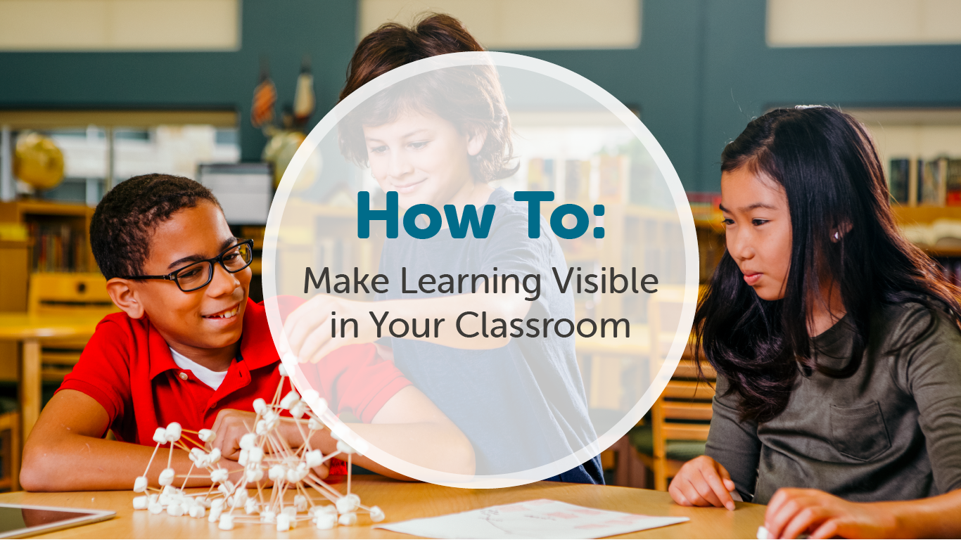 FreshGrade's Blog: How to Make Learning Visible in your Classroom
