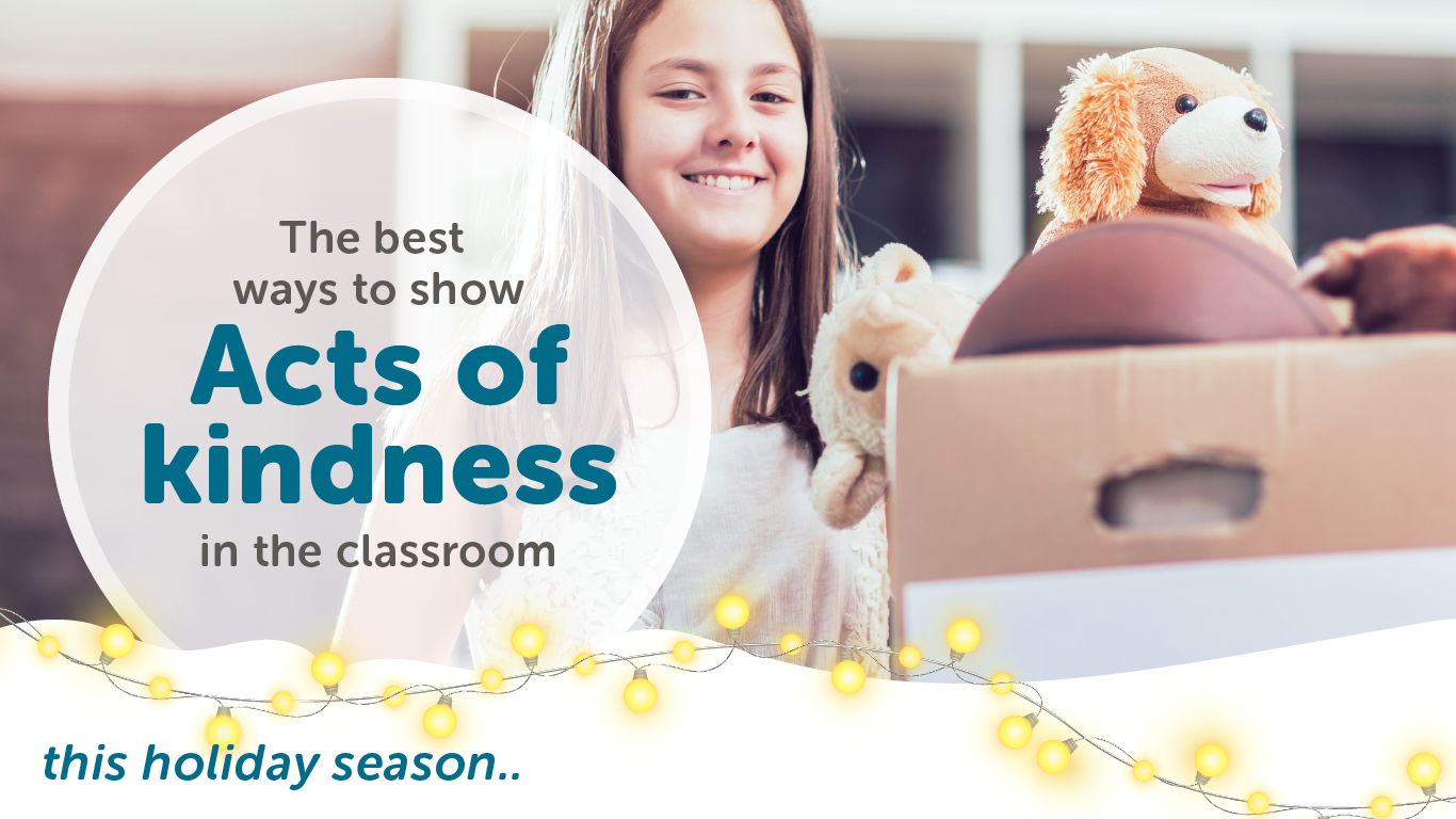 Freshgrade's blog on how to show acts of kindness in the classroom