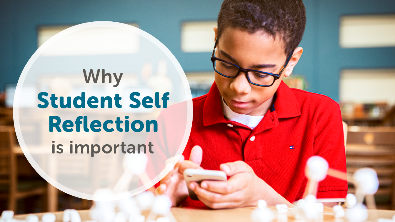 A blog post by freshgrade on why student self reflection is important